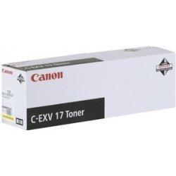 Canon toner C-EXV 17 azurový
